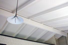 After ceiling restoration