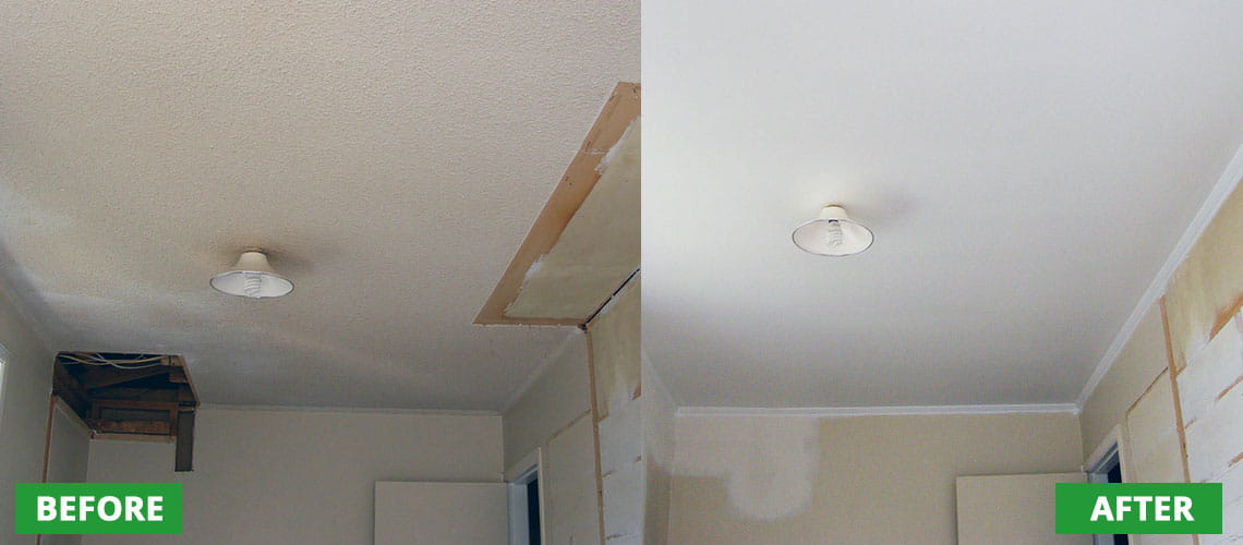 Asbestos removal from ceilings Tauranga